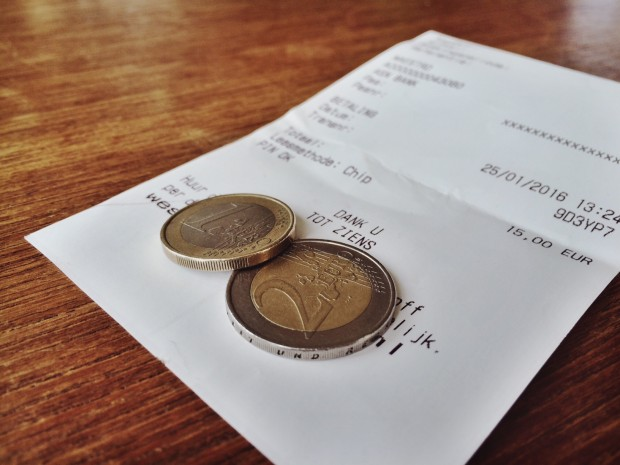 how to: tip your waiter - This is Haarlem